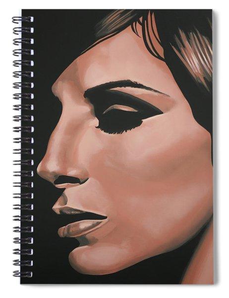 Barbra Streisand Spiral Notebook