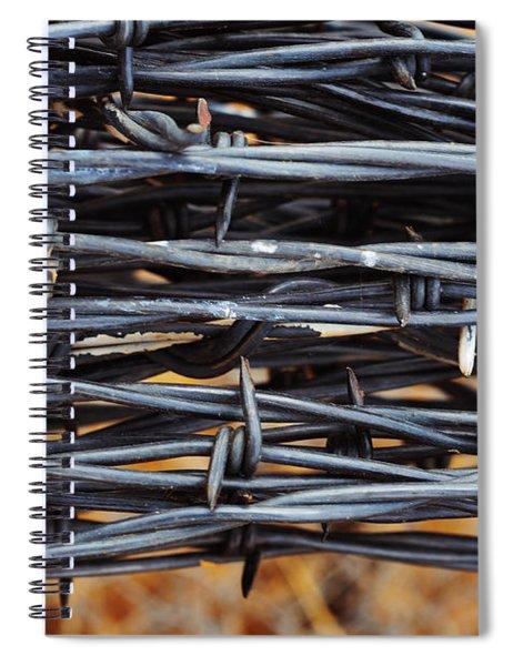 Barbs Wound Tight Spiral Notebook