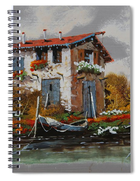 Barca Al Molo Spiral Notebook