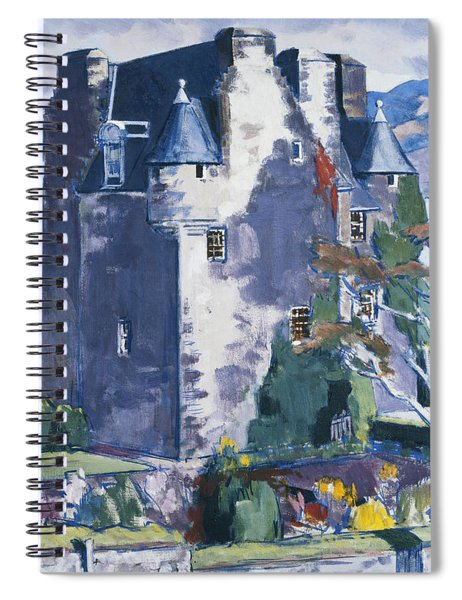 Barcaldine Castle Spiral Notebook