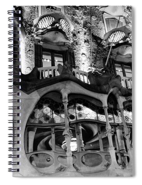 Barcelona - Casa Batllo Spiral Notebook