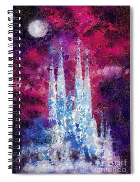 Barcelona Night Spiral Notebook