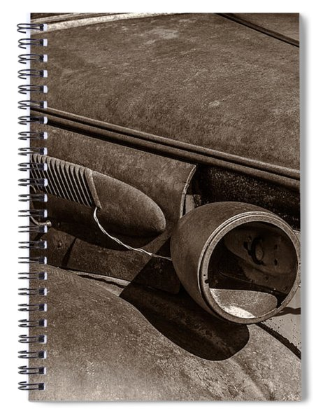 Barely Existing Spiral Notebook