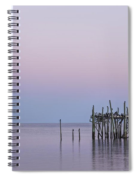 Barely Standing Spiral Notebook