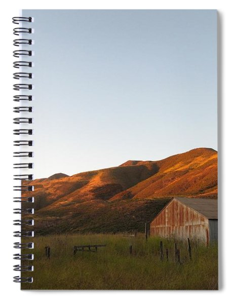 Barn At Garrapata State Park Spiral Notebook