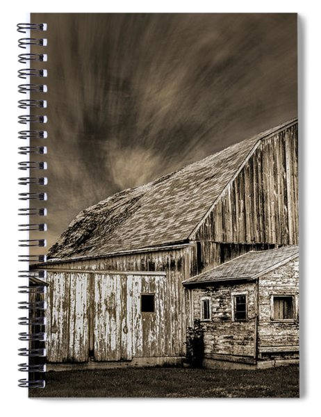 Barn On Hwy 66 Spiral Notebook