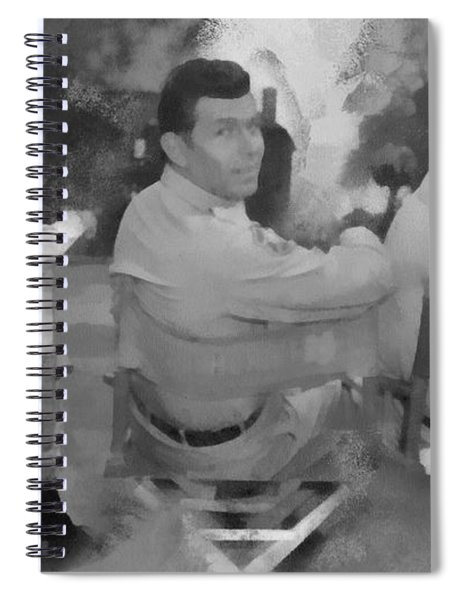 Barney Andy And Gomer Spiral Notebook