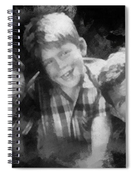 Barney Opie And Andy Spiral Notebook