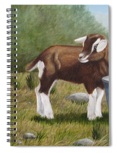 Barnyard Talk Spiral Notebook