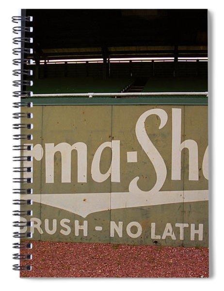 Baseball Field Burma Shave Sign Spiral Notebook