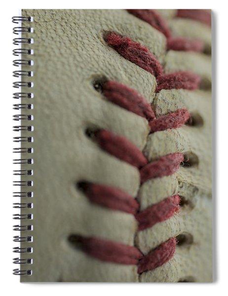 Baseball Macro Spiral Notebook