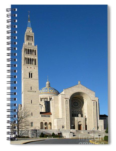 Basilica In Washington Dc Spiral Notebook