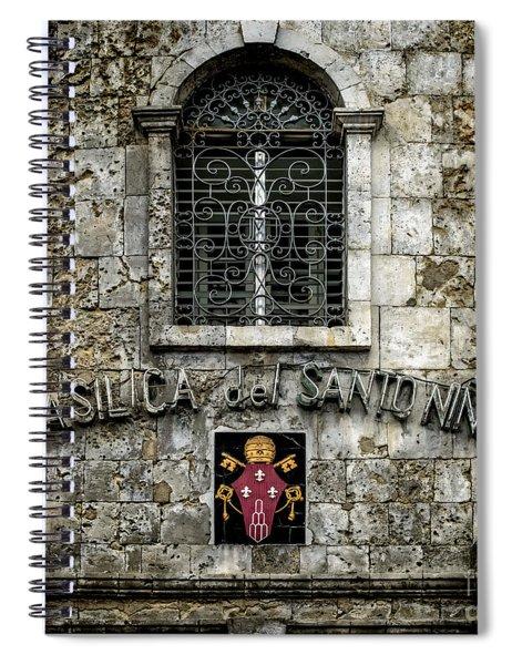 Basilica Sign Spiral Notebook