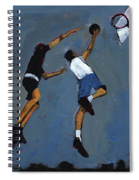 Basketball Players Spiral Notebook