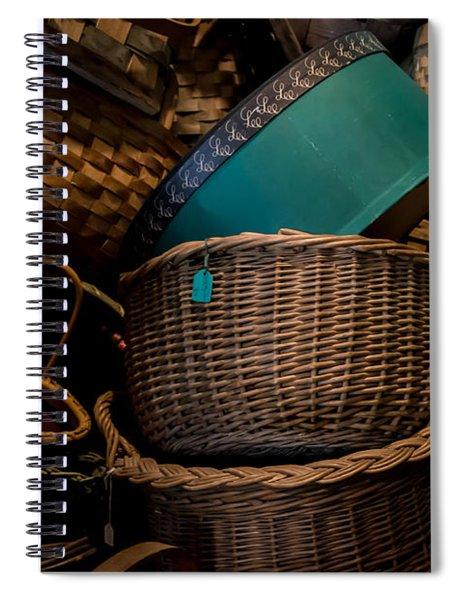 Baskets Galore Spiral Notebook