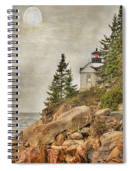 Bass Harbor Head Lighthouse. Acadia National Park Spiral Notebook