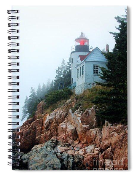 Bass Harbor Head Lighthouse Spiral Notebook