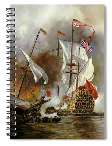 Battaglia Sul Mare Spiral Notebook