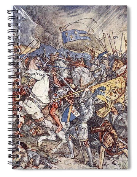 Battle Of Fornovo, Illustration Spiral Notebook