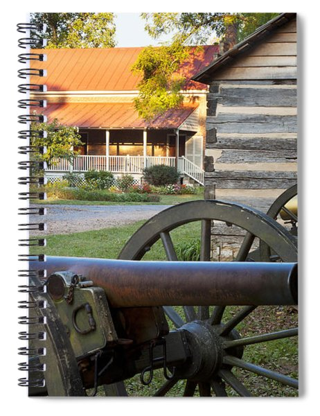 Spiral Notebook featuring the photograph Battle Of Franklin by Brian Jannsen