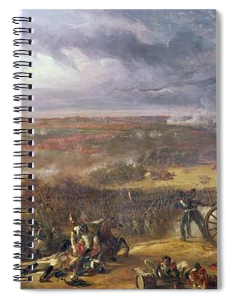 Battle Of Waterloo, 1815, 1843 Spiral Notebook