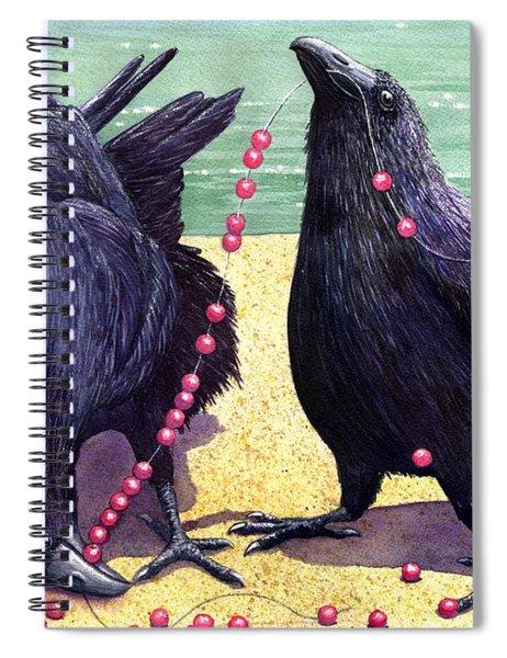 Baubles Spiral Notebook