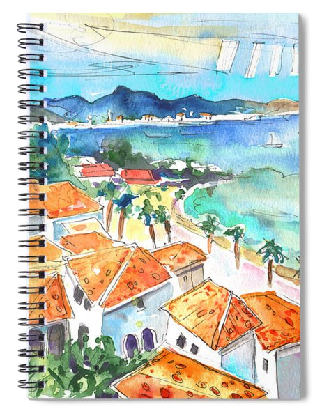 Bay Of Saint Martin Spiral Notebook