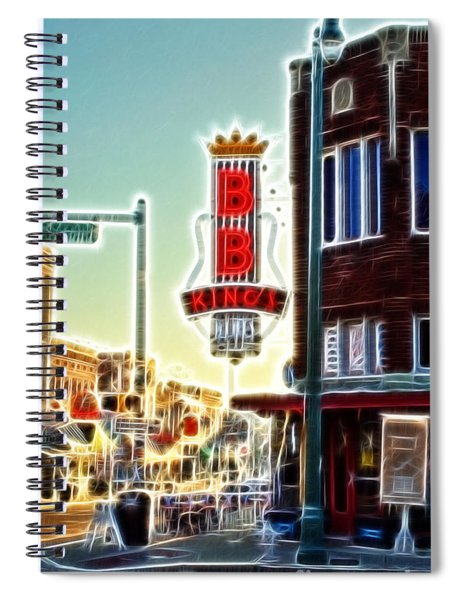 Bb King Club Spiral Notebook