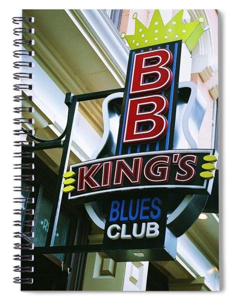 Bb King's Blues Club Spiral Notebook