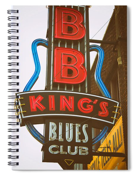 Bb King's Blues Club Spiral Notebook