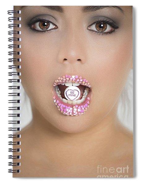 Be Mine Spiral Notebook