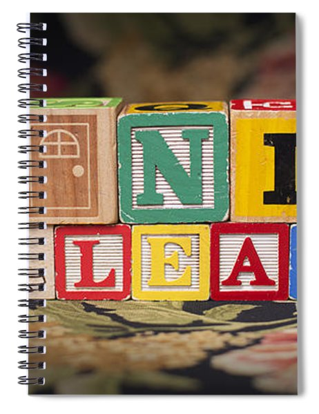 Be Nice Or Leave Spiral Notebook