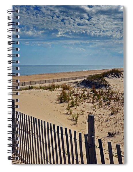 Beach At Cape Henlopen Spiral Notebook