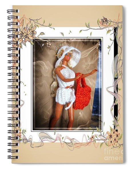 Beach Bumming - Fashion Doll - Girls - Collection Spiral Notebook