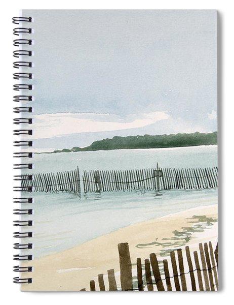 Beach Fence Spiral Notebook
