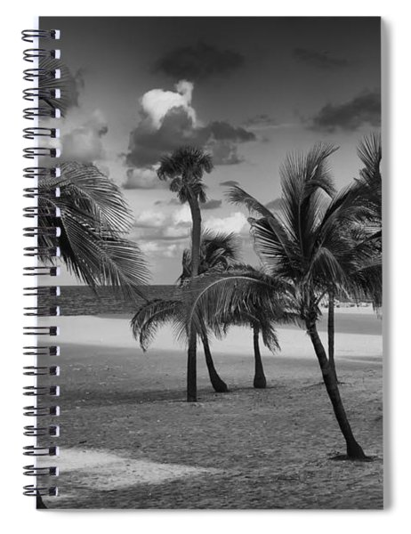Beach Foliage Spiral Notebook