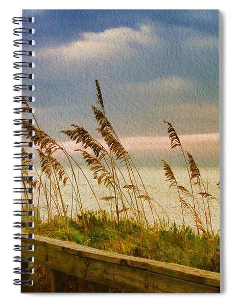 Beach Grass Spiral Notebook