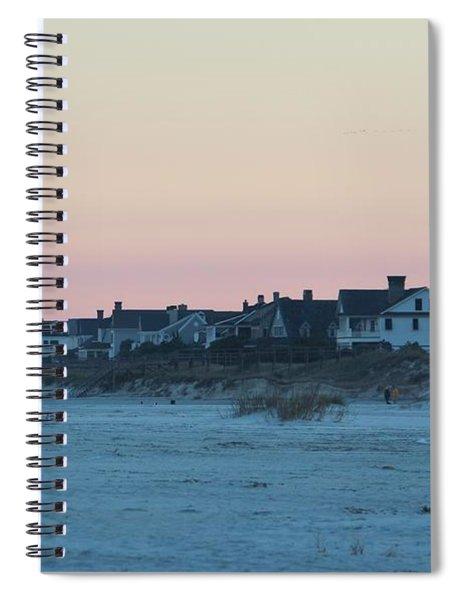 Beach Houses Spiral Notebook