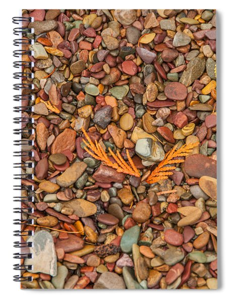 Beach Pebbles Of Montana Spiral Notebook