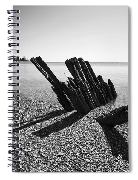 Beach Pilings Spiral Notebook