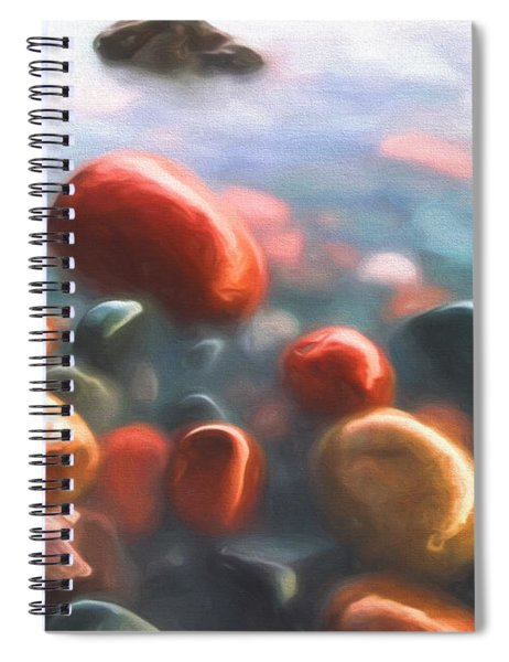 Beach Rocks Spiral Notebook