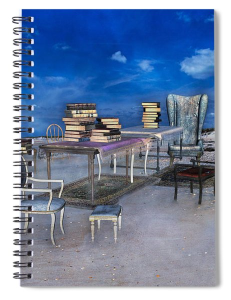 Beach Scholar  Spiral Notebook