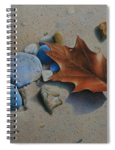 Beach Still Life II Spiral Notebook