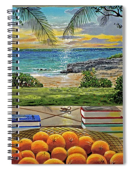 Beach View Spiral Notebook