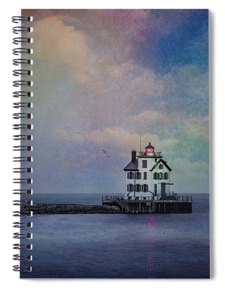 Beacon Of Light Spiral Notebook