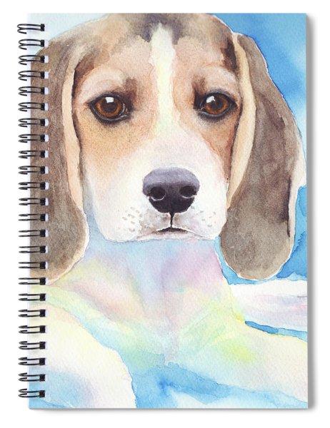 Beagle Baby Spiral Notebook