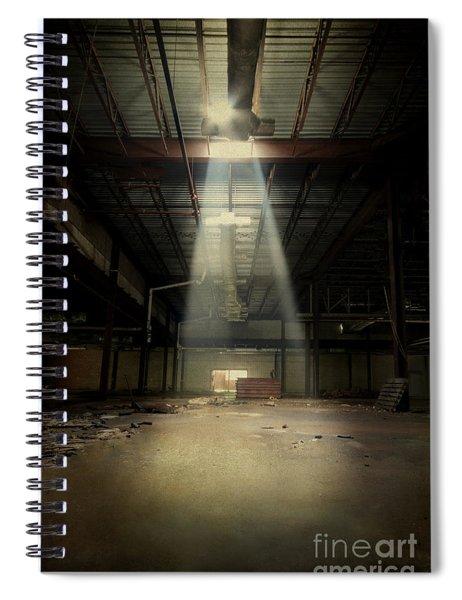 Beam Me Up Spiral Notebook