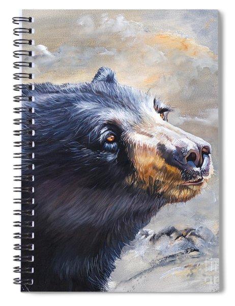 Four Winds Bear Spiral Notebook