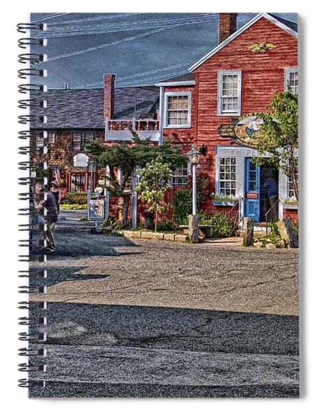 Bearskin Neck Spiral Notebook