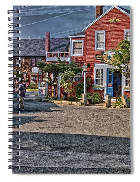 Bearskin Neck Spiral Notebook